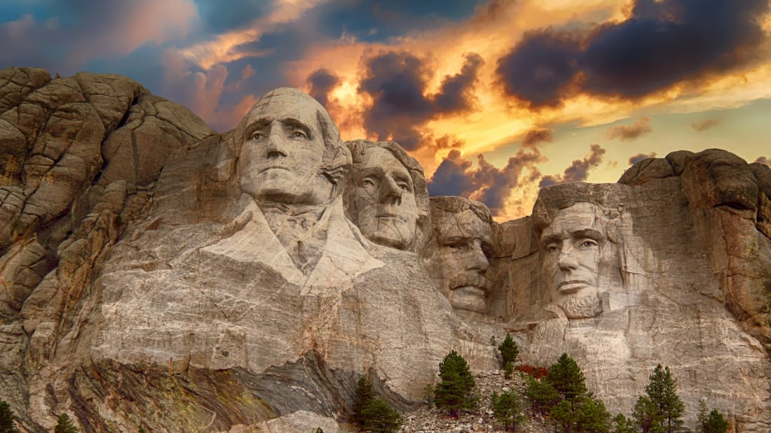 It took three years just to carve Washington's likeness.