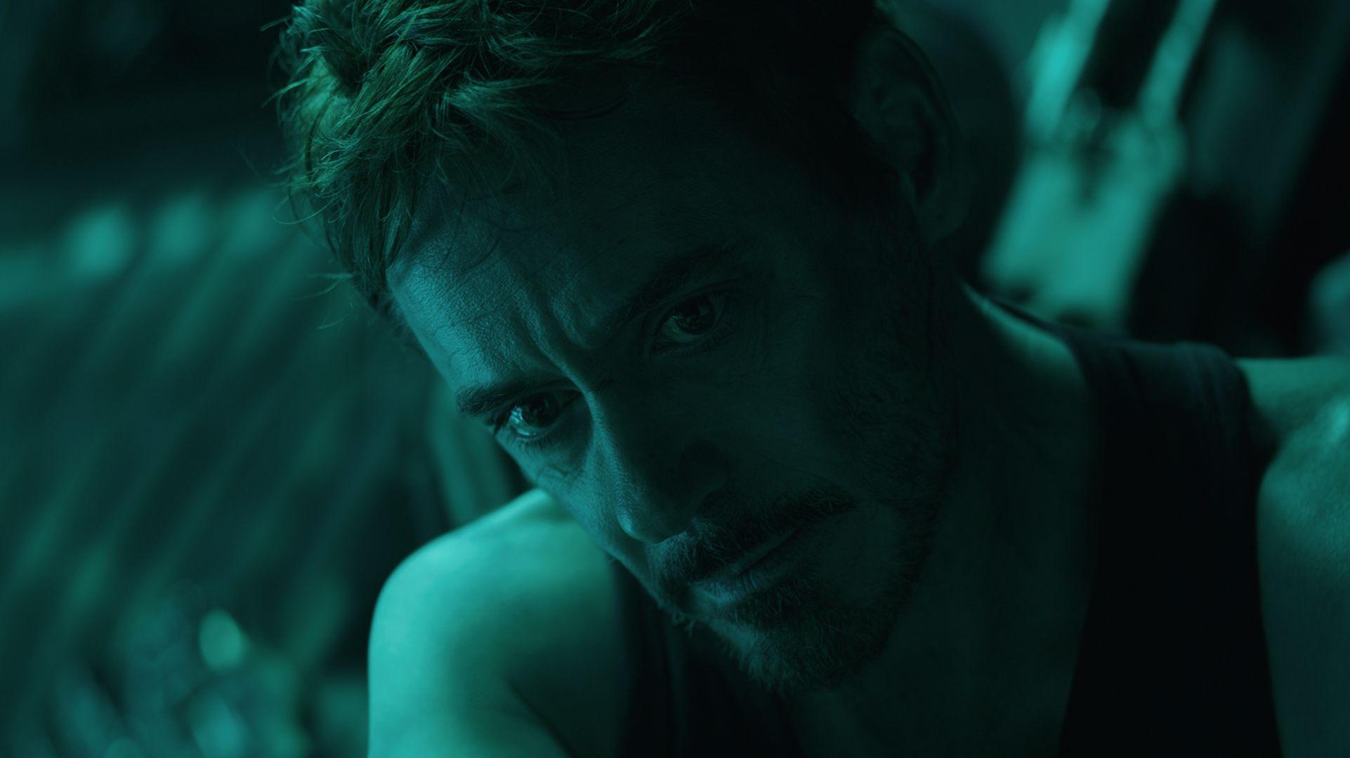 Robert Downey, Jr  Improvised Another Emotional Avengers