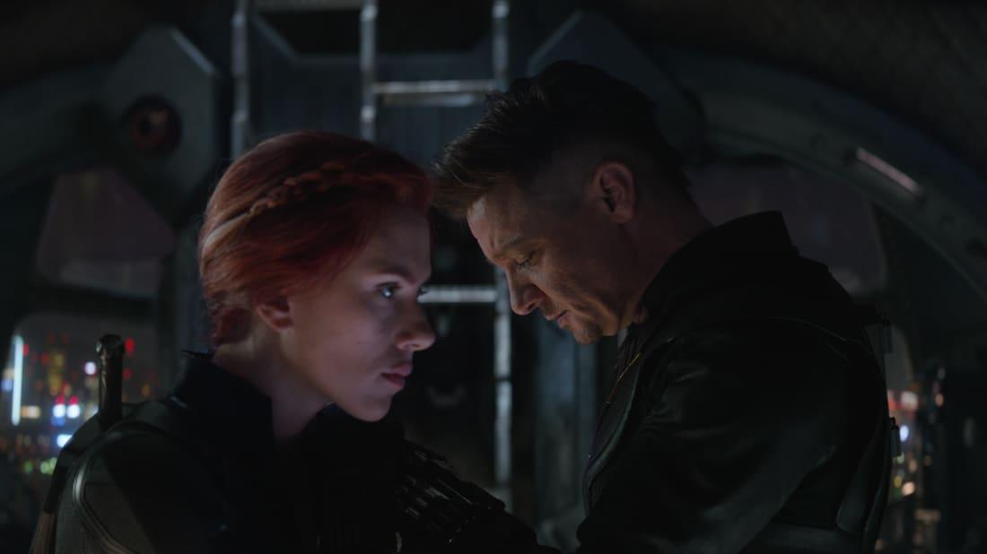 Scarlett Johansson and Jeremy Renner in Avengers: Endgame (2019)