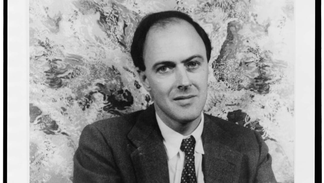 Roald Dahl photographed in 1954.