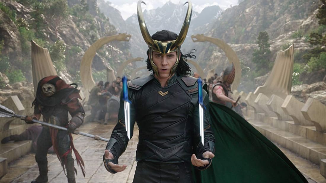 Tom Hiddleston as Loki in Thor: Ragnarok (2017)