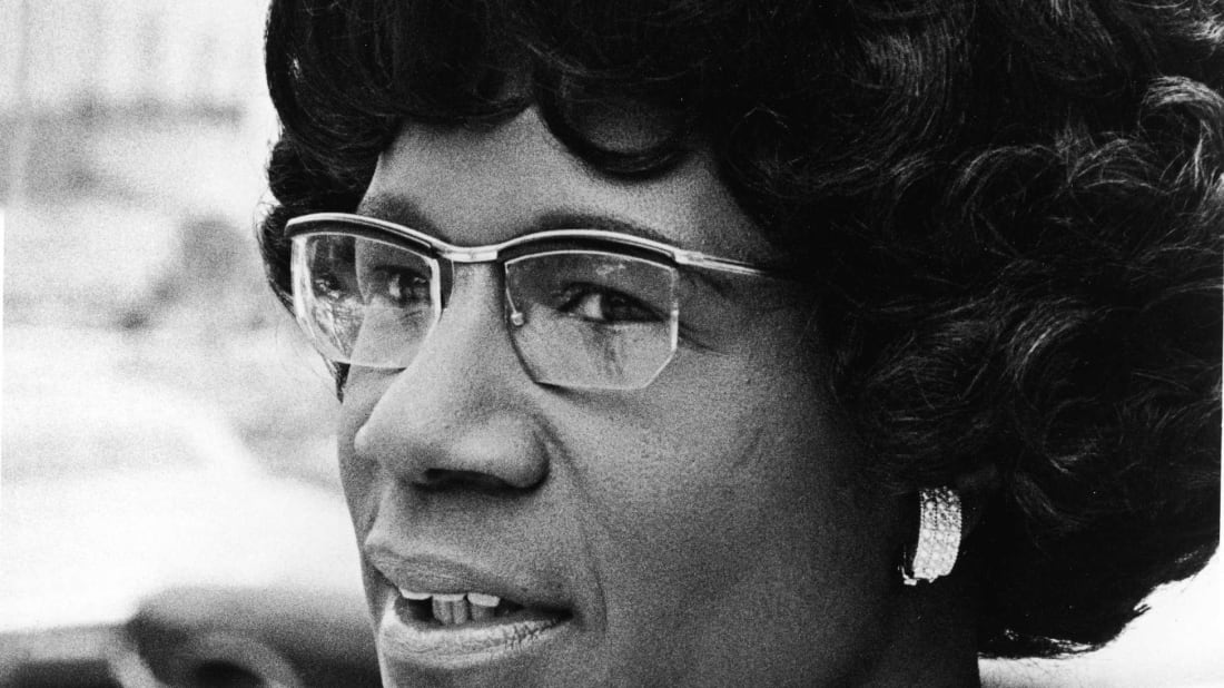 Shirley Chisholm led a groundbreaking career.