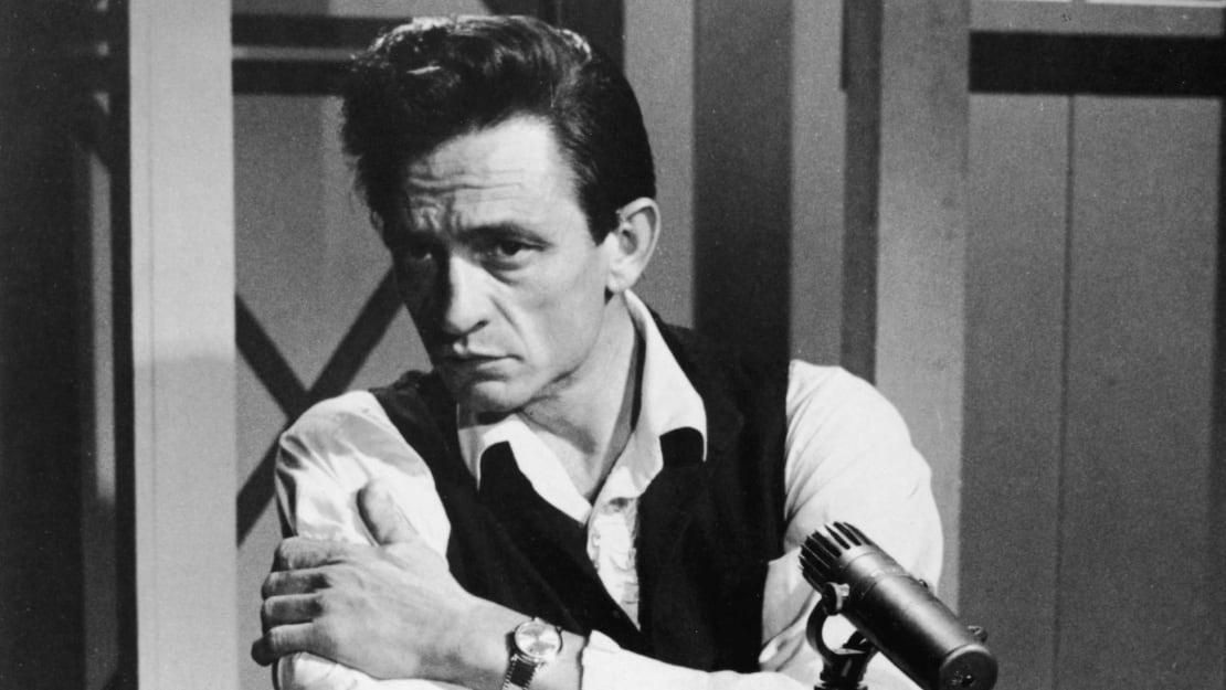 Johnny Cash in 1966.