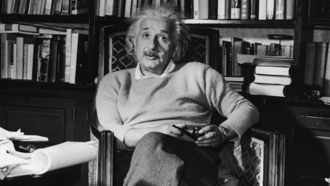 "When it came to books, Albert Einstein subscribed to the ""oldie but goodie"" mentality. He wasn't the only one."
