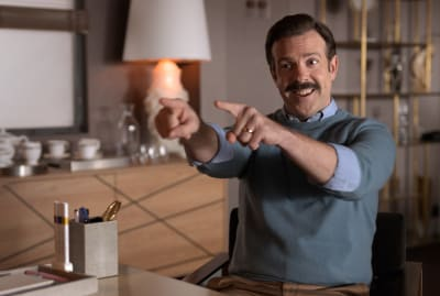 Jason Sudeikis is Ted Lasso.