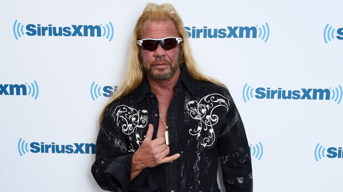 """Famed bounty hunter Duane """"Dog"""" Chapman starred in the reality TV show Dog the Bounty Hunter from 2004-2012."""