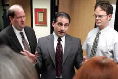 Steve Carell was a bit apprehensive about appearing in the series finale.