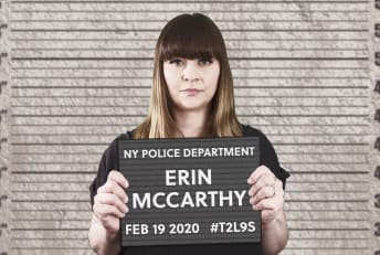 """Mental Floss editor-in-chief Erin McCarthy hosts """"The List Show."""""""