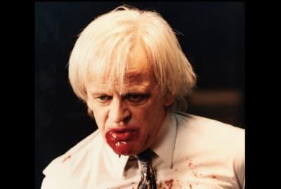 Klaus Kinski stars in Crawlspace (1986).
