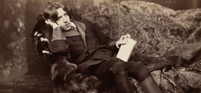 Oscar Wilde was rumored to have walked the streets of London with a lobster on a leash.