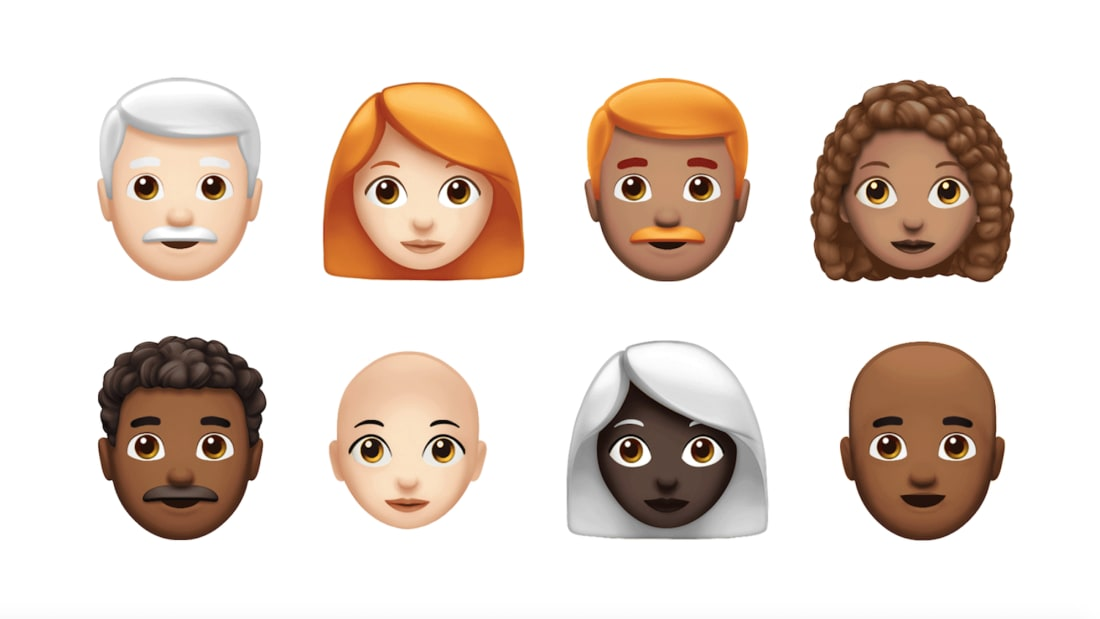 Here's a Preview of the 70 New Emojis Coming to Your iPhone | Mental