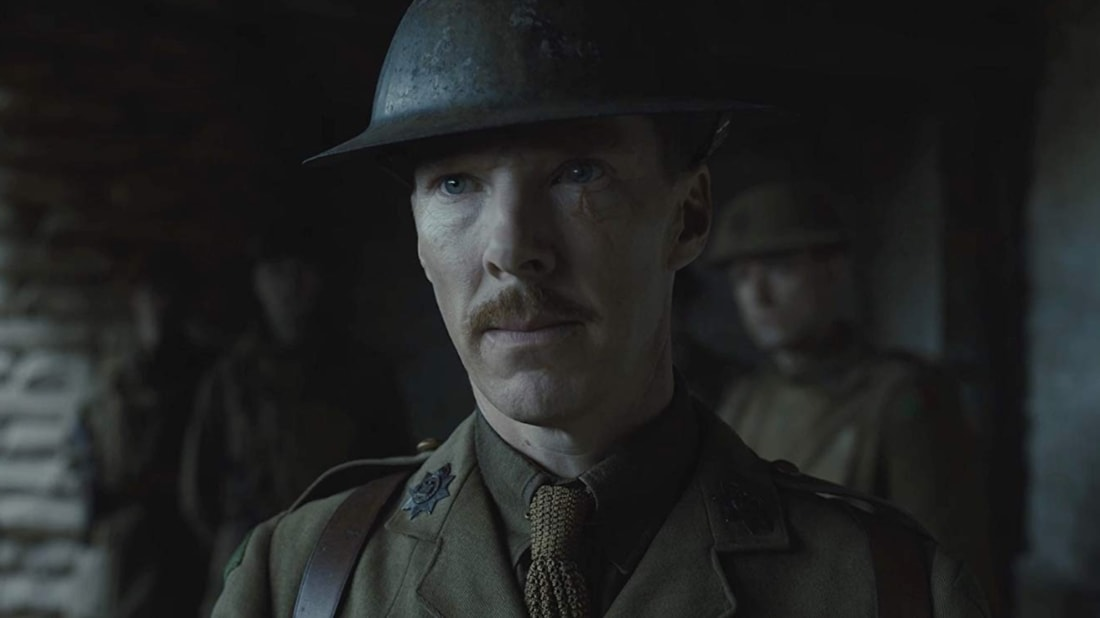 Benedict Cumberbatch in Sam Mendes's 1917 (2019).
