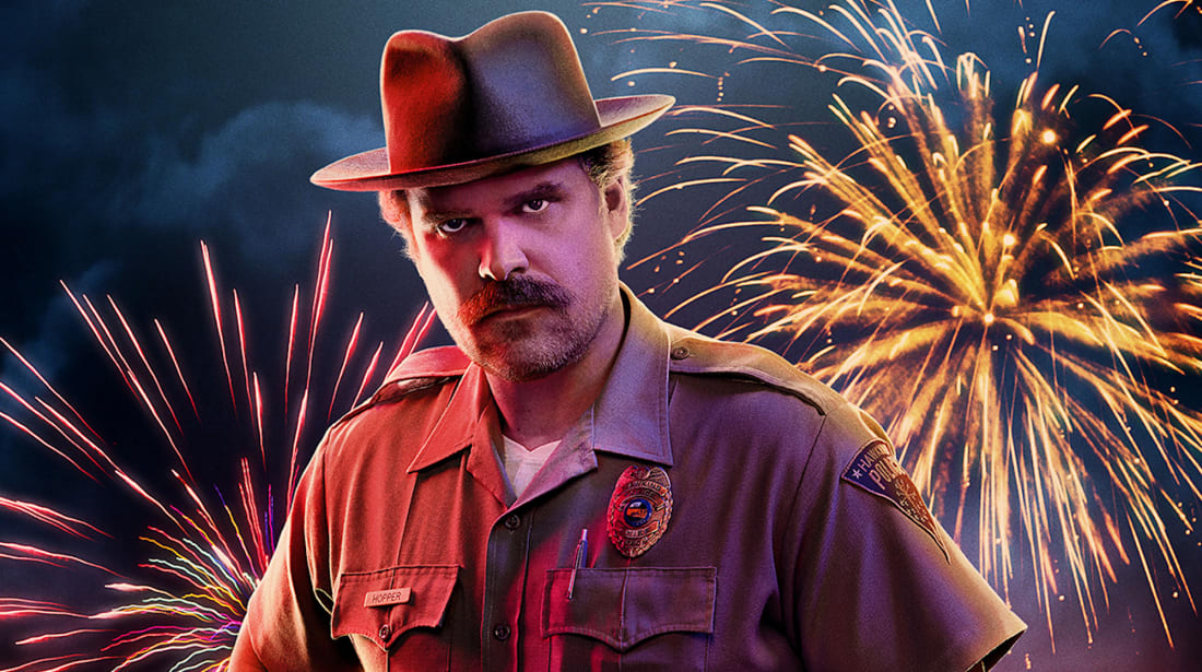 Stranger Things Star David Harbour Describes His Emotional Last Day on Set