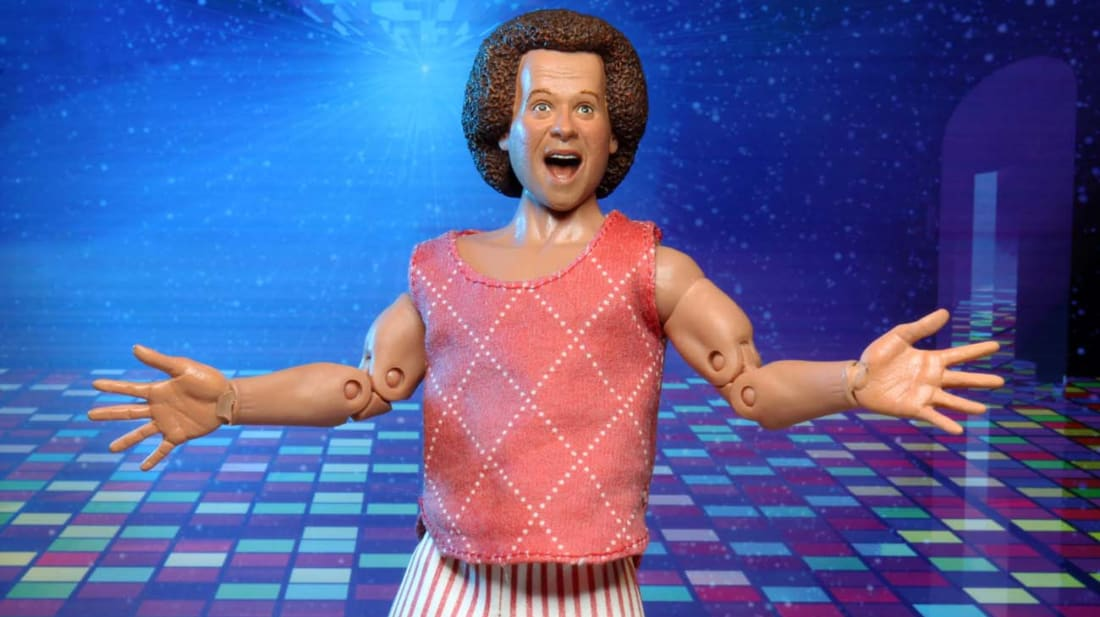 Richard Simmons, now in motivational toy form.
