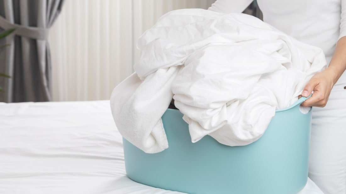 Your sheets need to be washed on a regular basis.