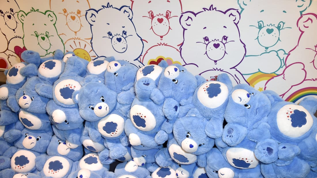 Care Bears were one of the great merchandising success stories of the 1980s.