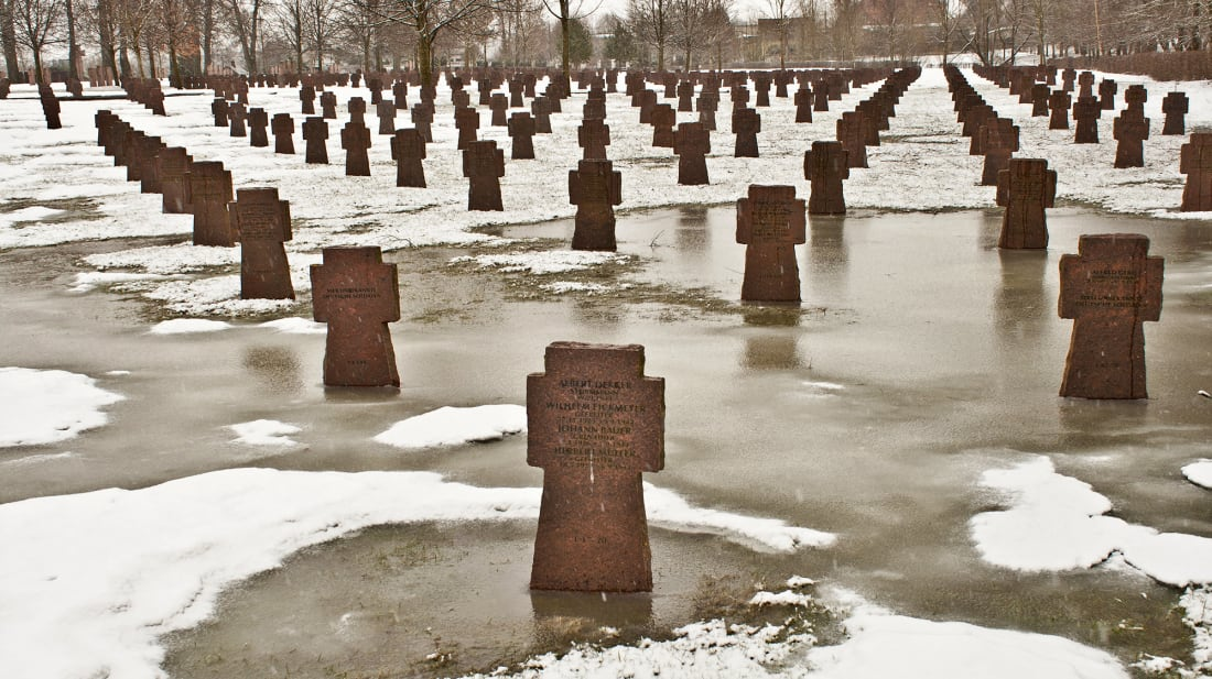 A German military cemetery in Estonia