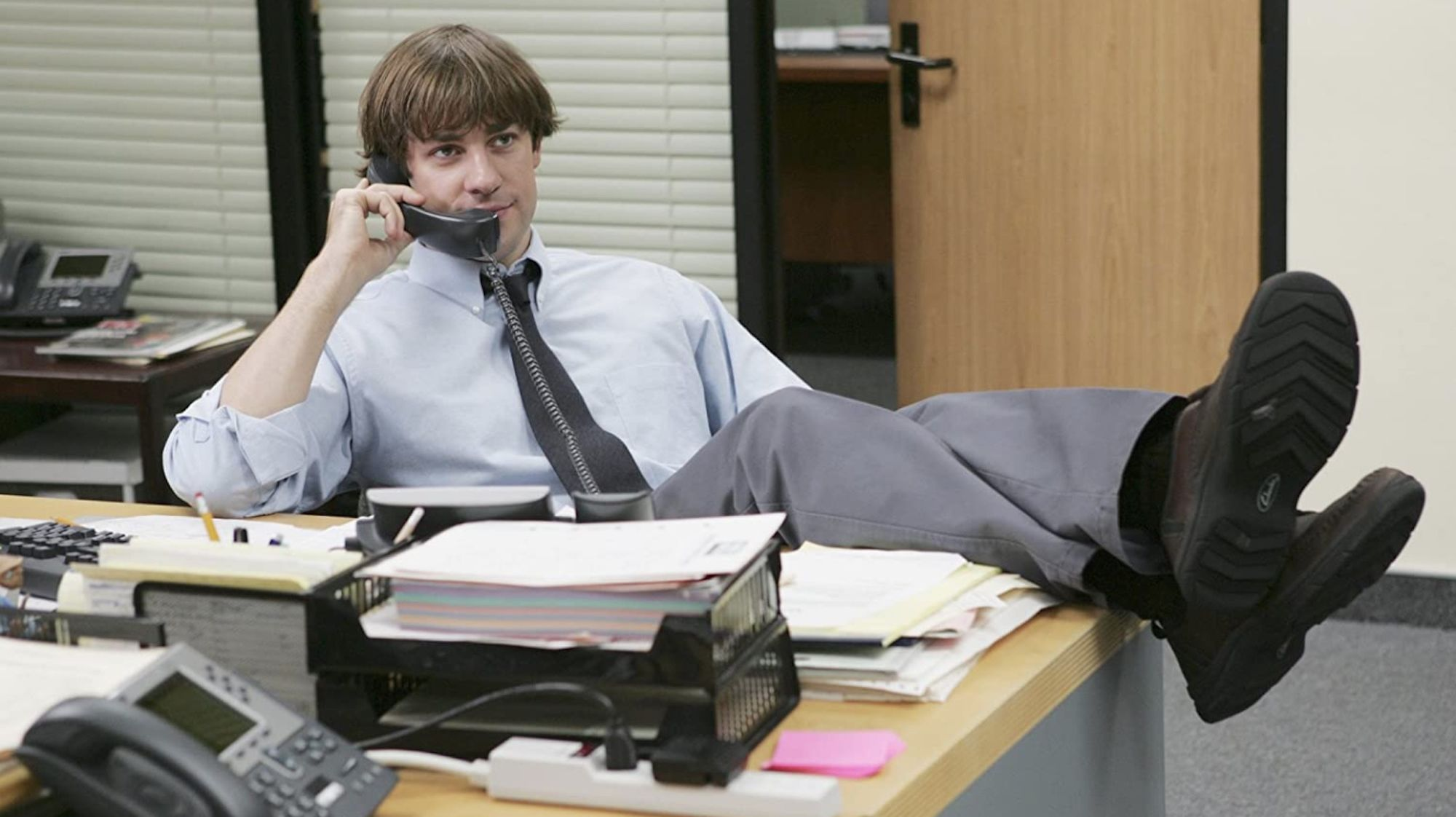John Krasinski Wore a Wig That He Made Himself During Season 3 of The Office—Here's Why