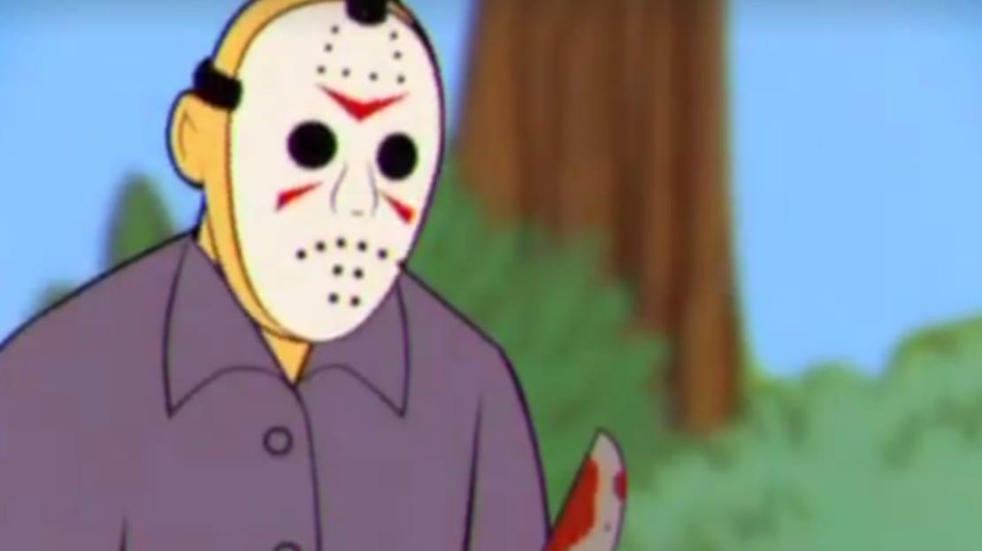Jason Voorhees gets animated.