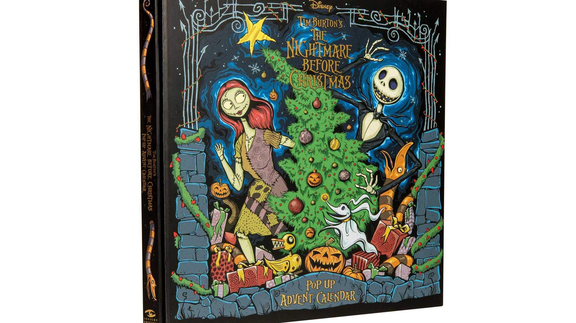Get Ready for the Holiday Season Early With This <em>Nightmare Before Christmas</em> Pop-Up Advent Calendar