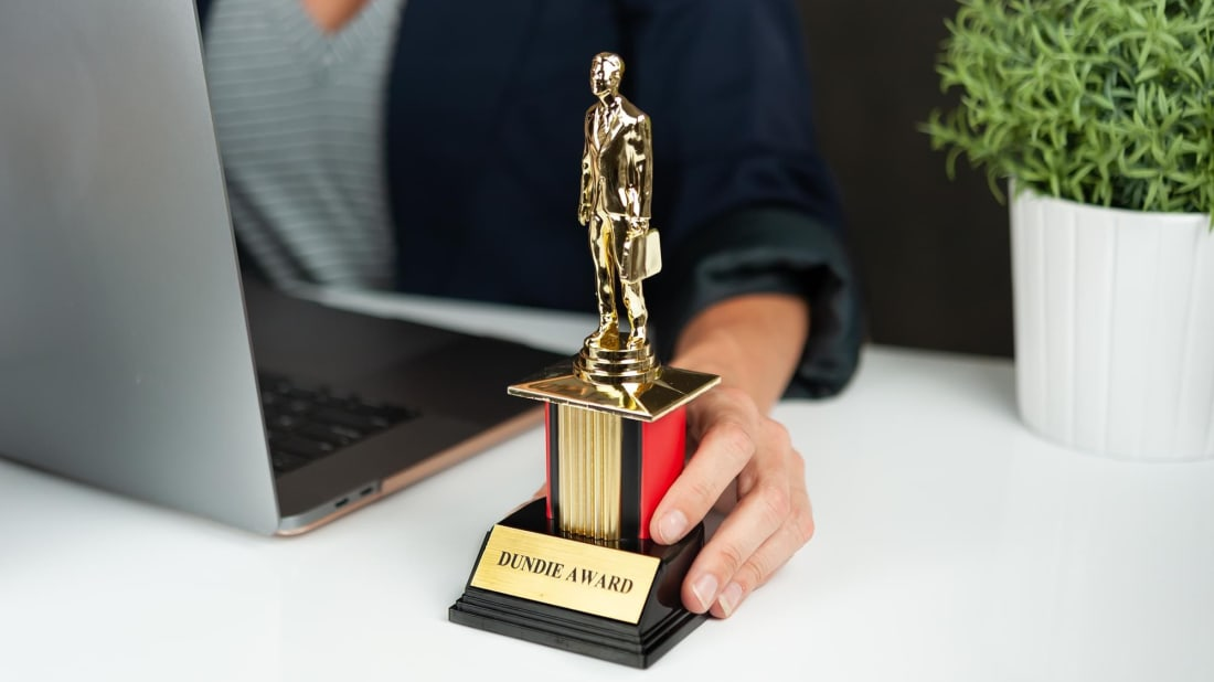 The Dundie Award.