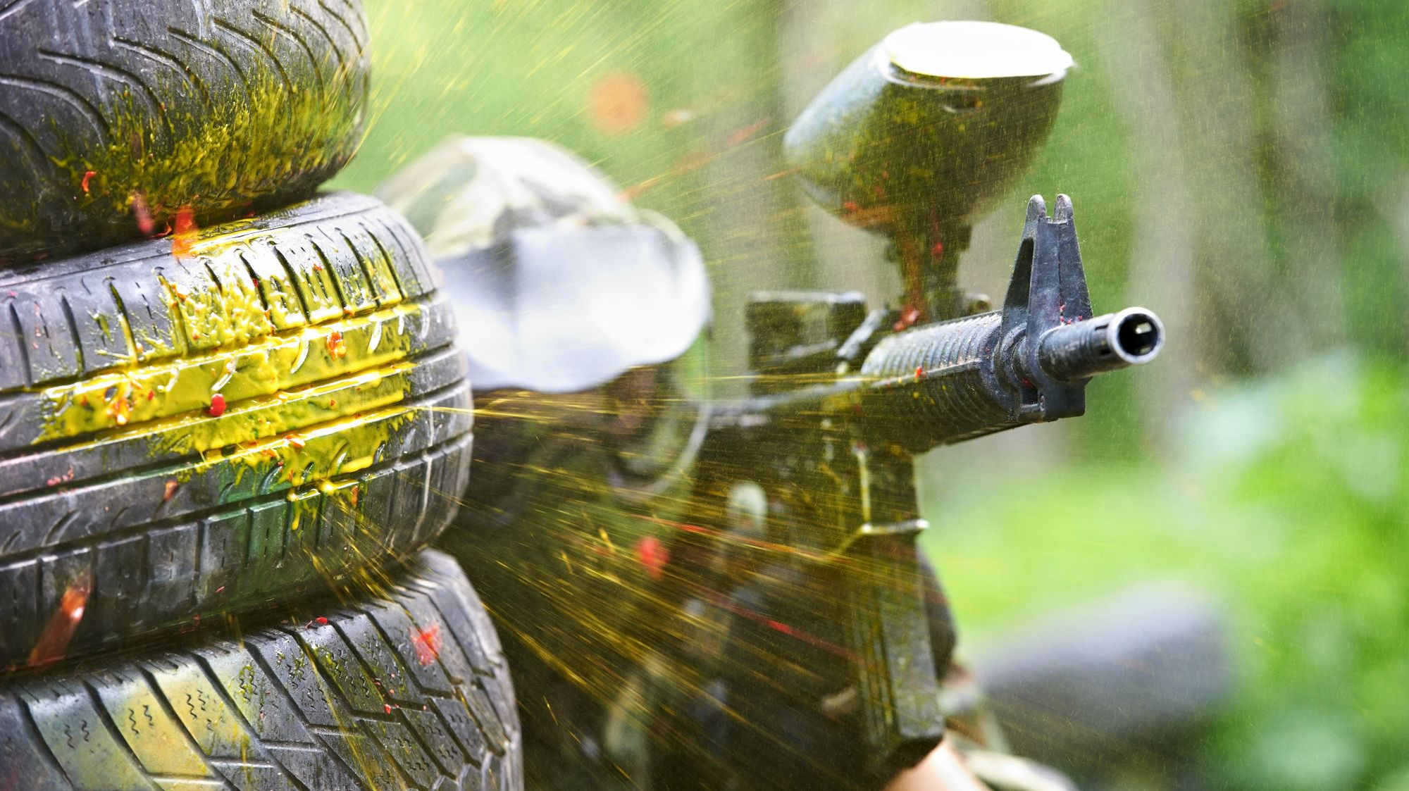 A Colorful History of Paintball
