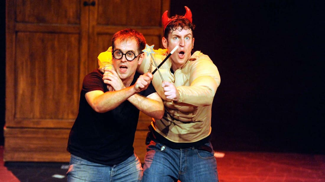 Jeff Turner and Daniel Clarkson perform Potted Potter.