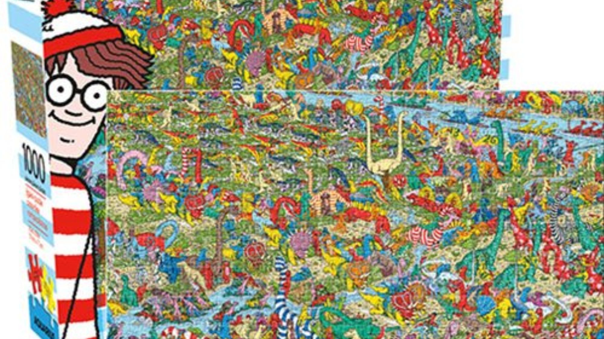 You May Finally Have Enough Time to Find Waldo in This 1000-Piece Puzzle