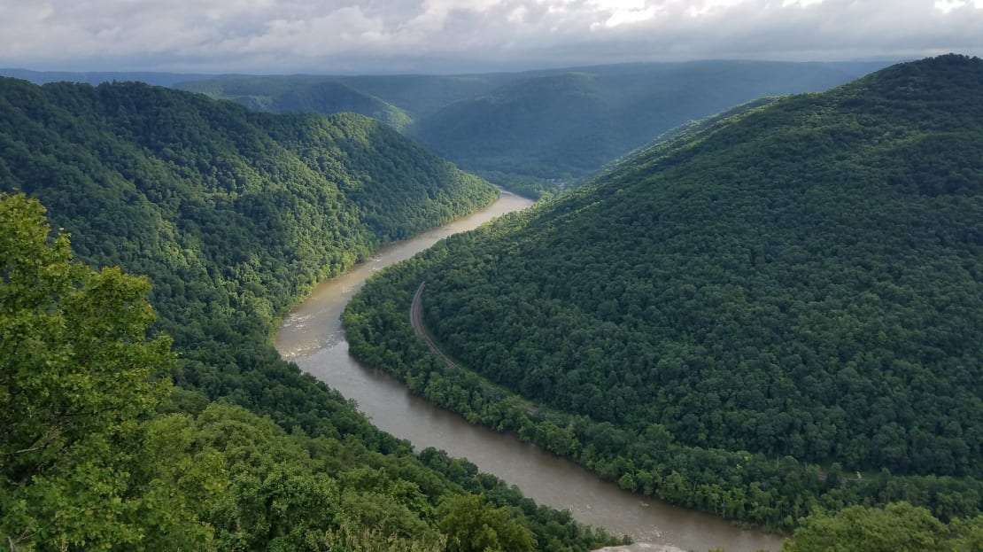 The New River Gorge National Park is perfect for outdoors enthusiasts.