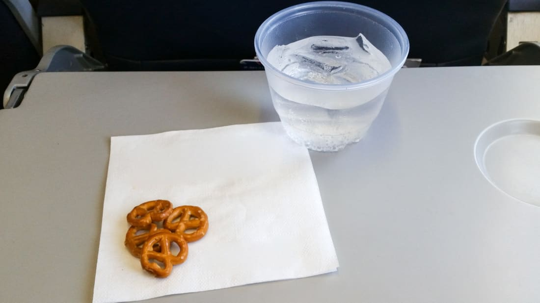 Now you can enjoy airplane snacks without leaving the comfort of home confinement.