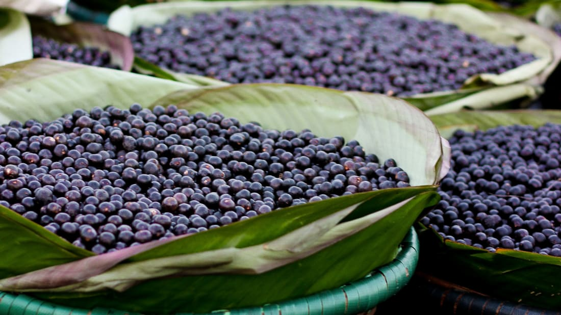Açaí berries are delicious. They're also hard to pronounce.