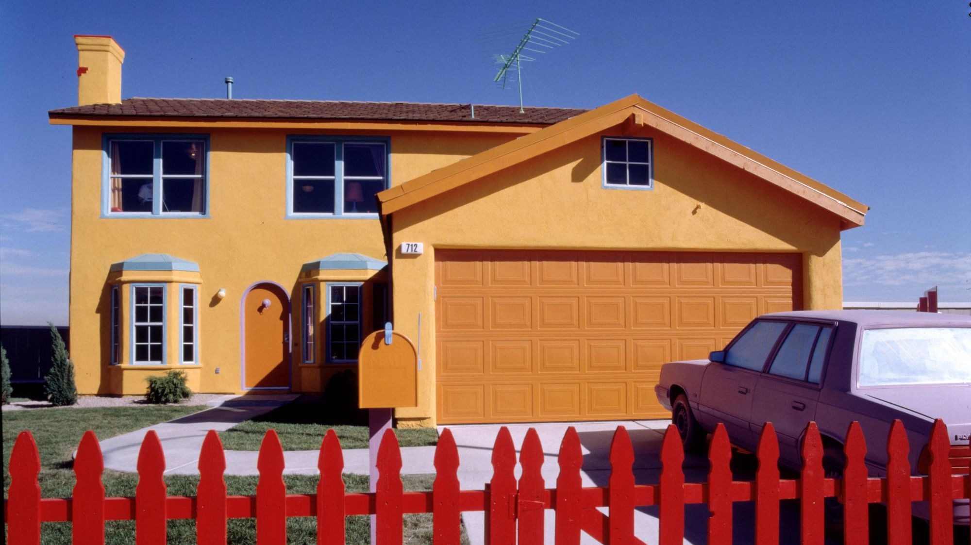 Home Sweet Homer The Strange Saga Of The Real Life Simpsons House In Nevada Mental Floss