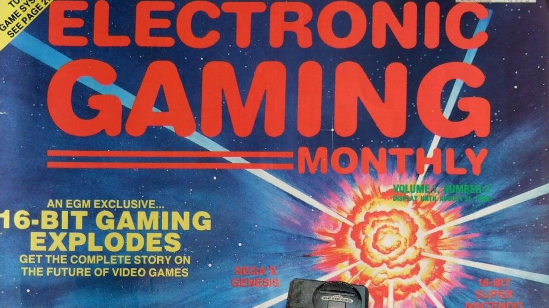 Classic video game magazines are a retro goldmine.