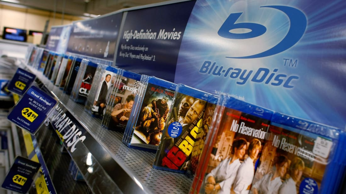 Some Blu-ray discs can increase in value.