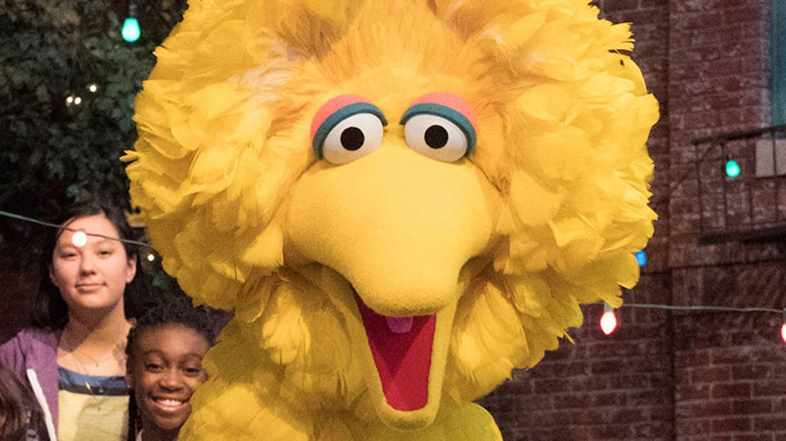 "When Big Bird Sang ""Bein' Green"" at Jim Henson's Memorial Service"