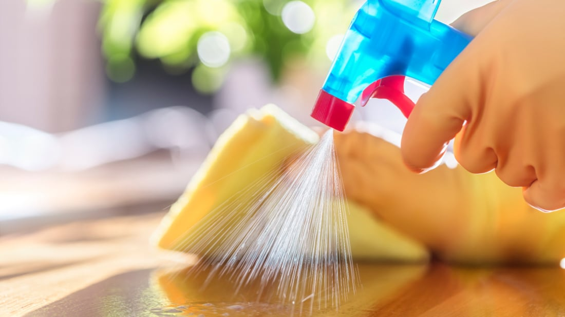 Frequent cleaning of high-traffic areas can reduce the spread of illness in your home.