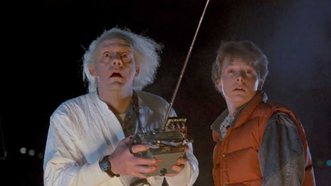 Marty and Doc Brown were best friends. Too bad Doc had to kill him.