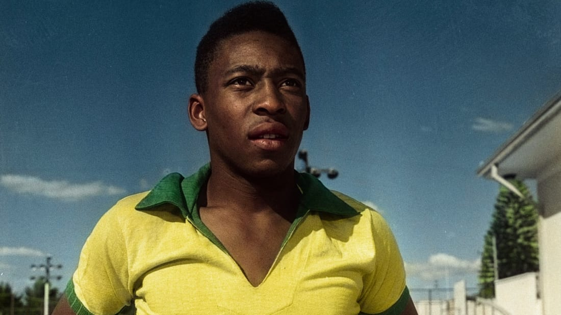 Edson Arantes do Nascimento, better known as Pelé, in the Netflix documentary Pelé (2021).