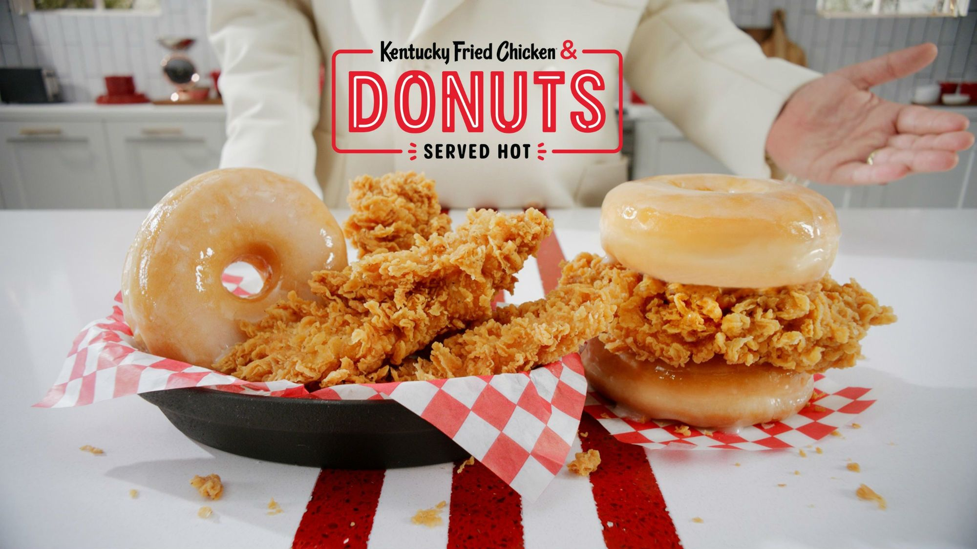 Coming Soon to a KFC Near You: Fried Chicken and Donuts