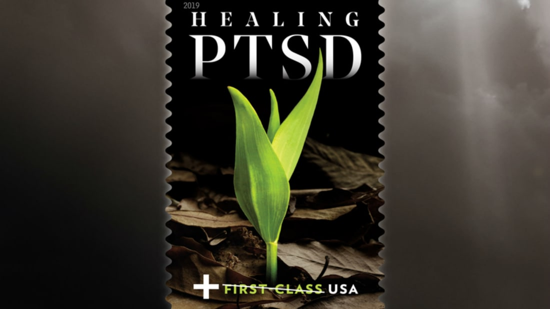 U.S. Postal Service Issues 'Healing' Stamp to Help Americans Struggling With PTSD