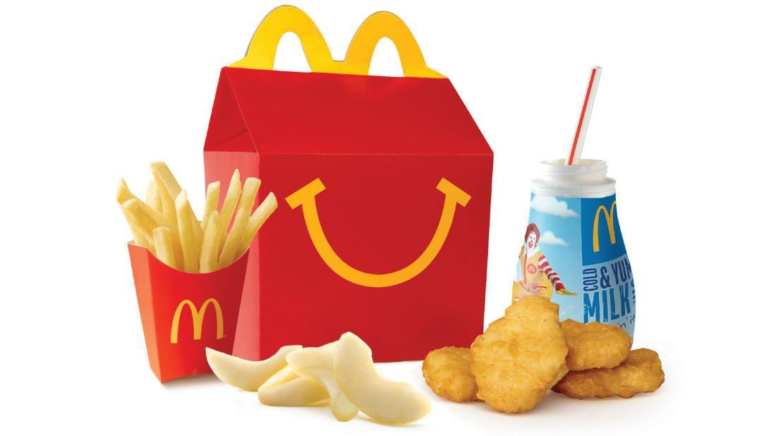 The McDonald's Happy Meal has a murky history.