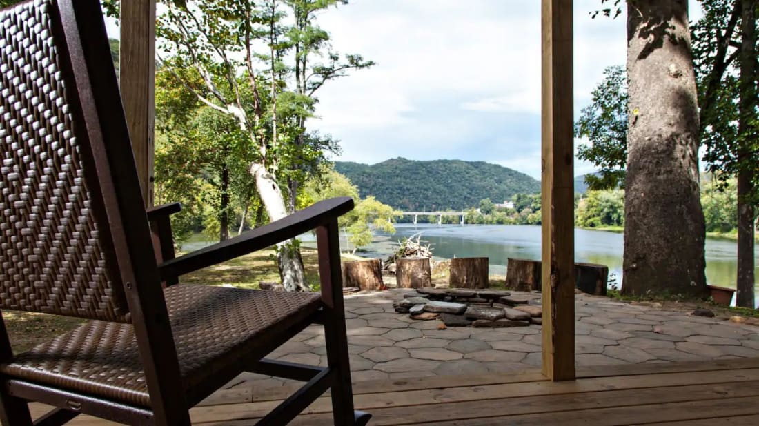You can grab a private island in West Virginia.