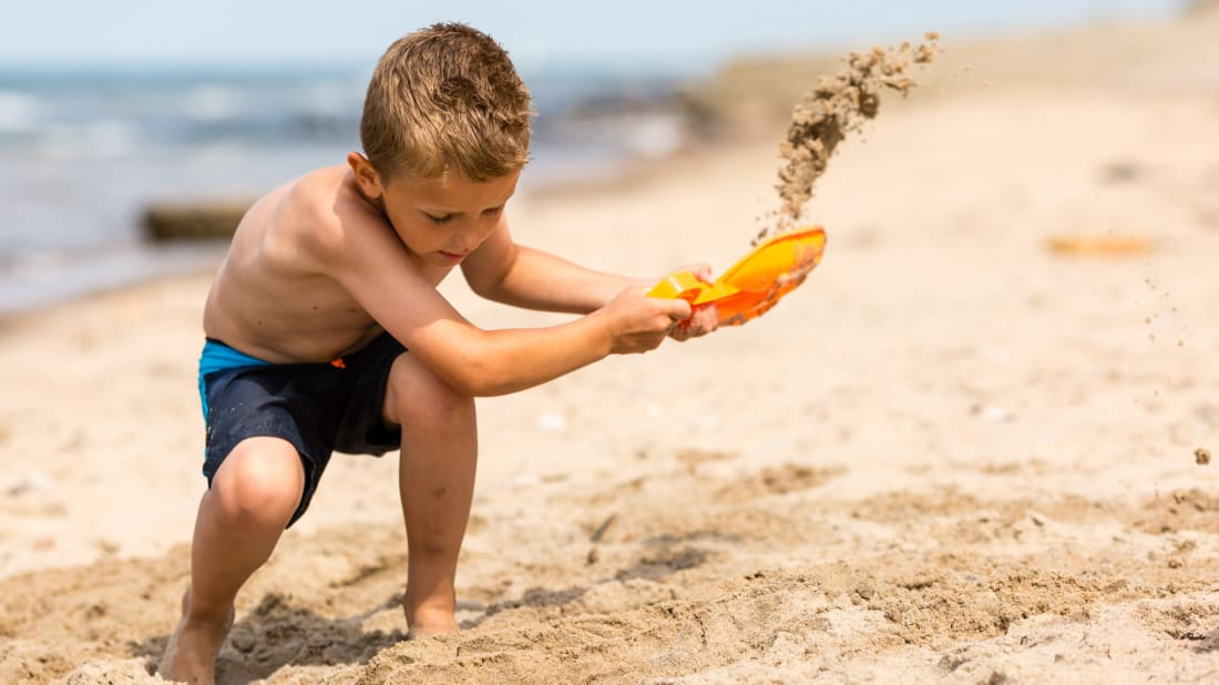 Digging holes at the beach can be hazardous for a number of different reasons.