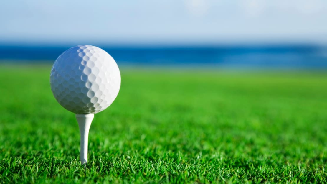 Stylish and practical, the golf ball is a design marvel.