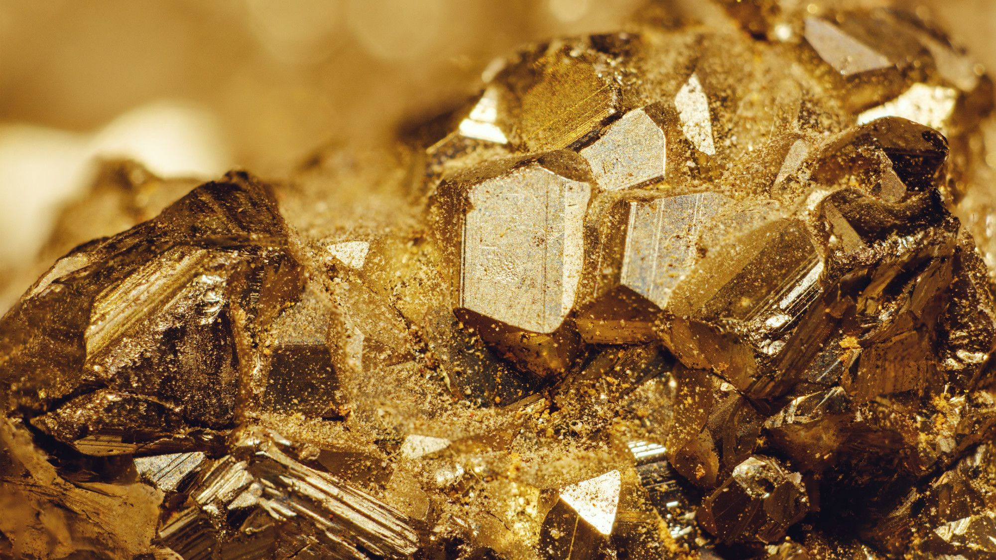 Irony Alert: Fool's Gold Actually Contains Real Gold