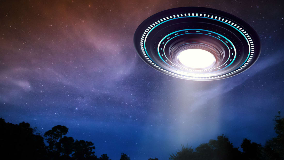 UFOs aren't commonly seen in Texas.
