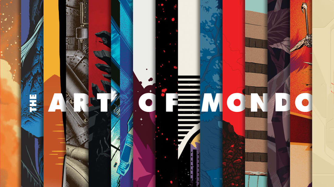The Art of Mondo features some of the company's best movie poster art from over the years.