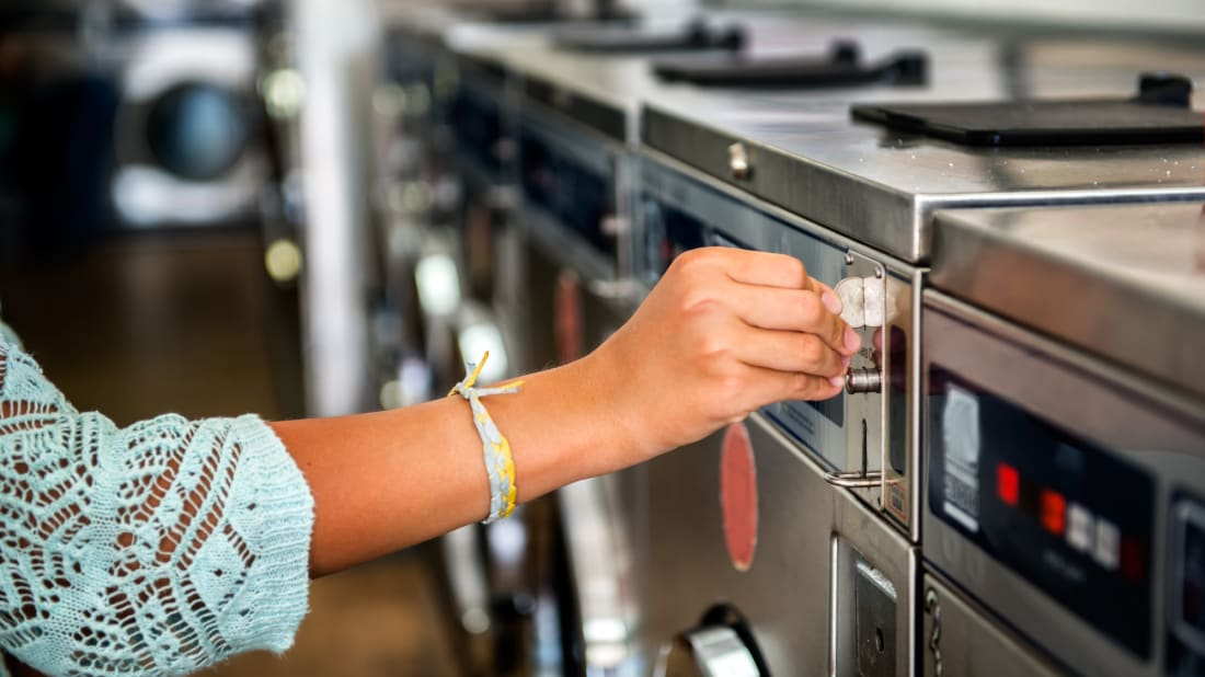 Laundromats can be safe if you take the proper precautions.