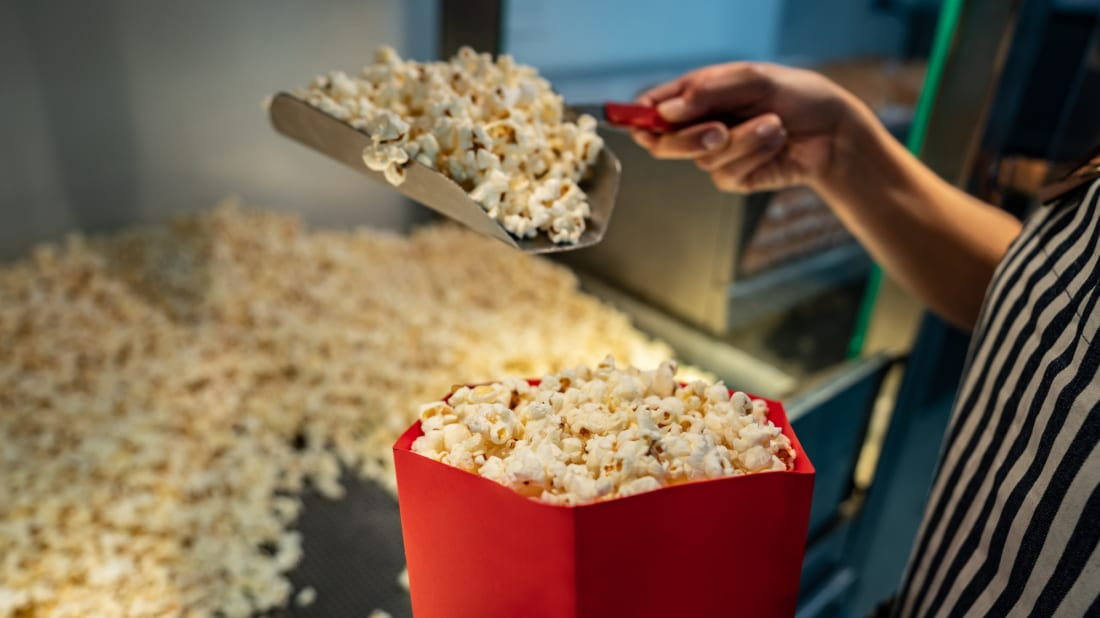 Snacks like popcorn, not hit movies, are really what keep theaters in business.