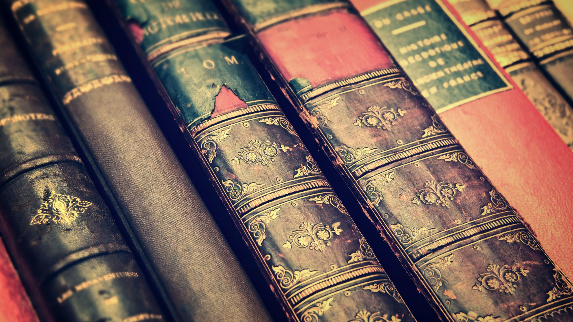 5 Amazing Things Found in Old Books